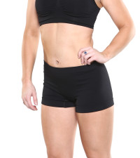 great for hot yoga or workouts or just under a skirt